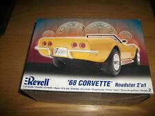 Revell - 68 Corvette Roadster 2 ´N 1 - Kit Construcción - 1:25