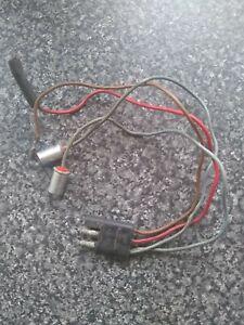 Ford Escort Mk2 RS2000 Mexico Sport Ghia Capri Centre Console Clock Wiring Loom