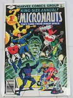 The Micronauts King Size Annual #1 Marvel Comics 1979 Steve Ditko