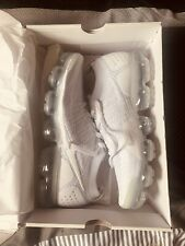 Nike Air Vapormax Flyknit 2 White Trainers - Size UK 10