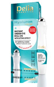 DELIA HYALURON FUSION INSTANT UNDER EYE ROLL-ON WITH LIFTING EFFECT