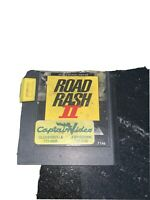 ROAD RASH 2 Sega Genesis Game Authentic Cartridge Tested!