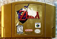 Legend of Zelda: Ocarina of Time - Collector's Edition (64, 1998) Label Damage
