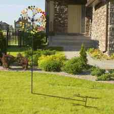 Large Wind Spinner Metal Kinetic Colorful Yard Decor Garden Sculpture Windmill