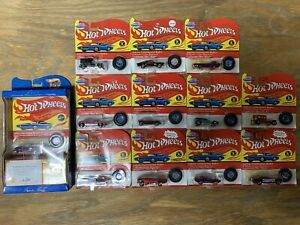 Hot Wheels Vintage Collection Lot of 12