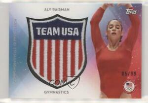 2016 Topps US Olympic & Paralympic Team and Hopefuls /99 Aly Raisman Patch