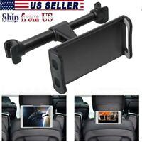 "Universal Car Seat Back Headrest 360° Mount Holder 4""-11"" For Phone iPad Tablet"