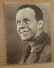 1929 Photogeaph Happy Smiling Man With Handwritten Message