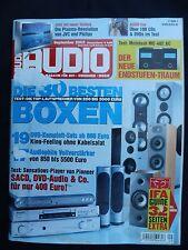 Audio 9/03 T + a P 1230r, rega mira 3, ROKSAN Caspian, Vincent SV 121, Krell SACD Stan