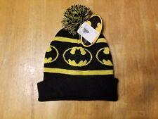 Batman Youth One Size Beanie Hat DC Comics - Pom Beanie