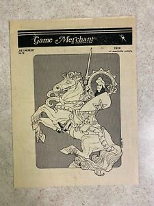 Vintage 1981 Game Merchant Monthly Detroit JULY/AUG No 14 RPG Catalog Book #T76A