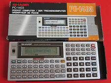 BOXED SHARP PC-1403 Pocket computer calculator