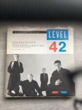 Level 42-Lessons In Love 12 inch vinyl maxi single