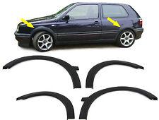 PASSAGE DE ROUE GTI AILE PLASTIQUE EXTENSIONS pour VW Golf 3 91-98