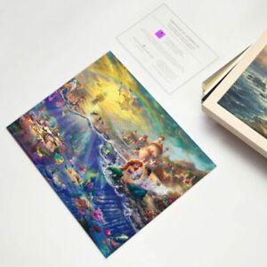 Thomas Kinkade Studios Little Mermaid 11 x 14 Art Print