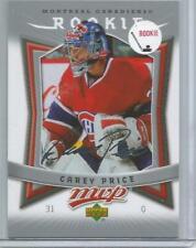 2007-08 Upper Deck MVP #352, Carey Price   ROOKIE Card    SILVER