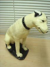 Early RCA Victor NIPPER DOG Plaster type Tabletop Store Display VG+Deal!