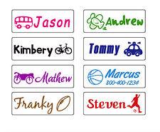 custom name stamp school teacher kids self ink boy car sport personalized gift