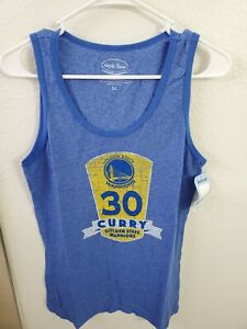 "Majestic Threads NBA Golden State Warriors Women's Tank Top Blue M(34'Bust/27""L)"