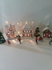 Holiday Classics Lighted Christmas Towne