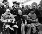 Внешний вид - New World War II Photo: Winston Churchill, FDR & Joseph Stalin, Yalta - 6 Sizes!