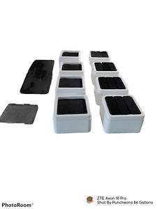 """iPrimio Bed and Furniture Risers 2"""" Per Riser and Lifts up to 10,000 LBs (White)"""