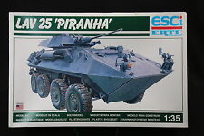 YC055 ESCI 1/35 maquette tank char 5033 LVA 25 Piranha
