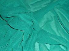 SOFT MESH--EMERALD GREEN-DRESS/CRAFT FABRIC-FREE P&P