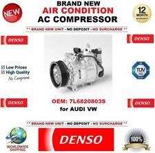 Denso Aire acondicionado CA Compresor OEM: 7l6820803s para Audi Vw Nuevo unidad