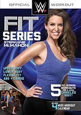 Wwe Fit serie Stephanie McMahon 5 entrenamientos ejercicio Dvd Nuevo Sellado