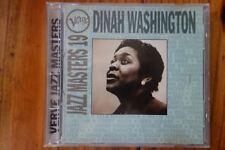 Verve Jazz Masters 19 by Dinah Washington (CD, Apr-1994, Verve)