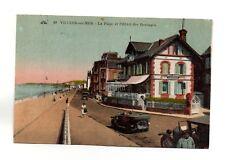 VILLERS SUR MER - La plage et l'hôtel des Herbages (A6010)