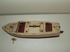 Antique 1930's LIONEL Craft Original Pre-war #43 Wind-Up Metal Runabout Boat