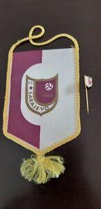 Bosnia and Hercegovina FK Sarajevo pennant and pin badge