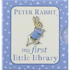 Peter Rabbit: My First Library 4 Board Book Collection Beatrix Potter, Shapes,