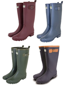 Town & Country Wellington Boots Lightweight PVC Fully Lined UK Size 4-12