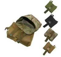 Hunting Tactical Duty Foldable Magazine Mag Drop Dump Molle Pouch Military Bag
