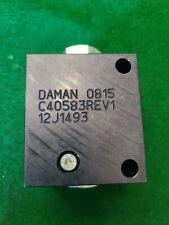 Daman Hydraulic Check Valve 12j1493