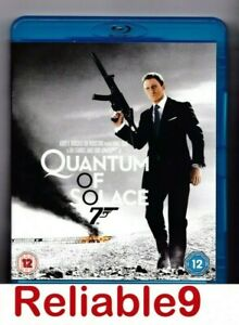 Quantum of solace Bluray+Special features New not sealed Region B - 2009 FOX UK