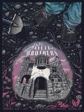 The Avett Brothers Gilford NH June 1 2017 poster TAB new hampshire