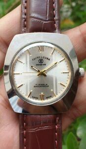 Vintage Favre Leuba Cal 253 Hand Winding 17 Jewels Swiss Made Watch
