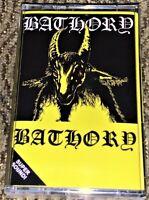 BATHORY - BATHORY. NEW & Sealed Cassette Tape Rare Black Metal