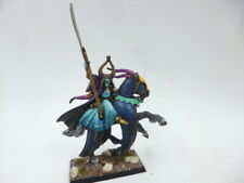 GAMES WORKSHOP WARHAMMER WARRIORS OF CHAOS MOUNTED SORCERER LIMITED PRO PAINTED