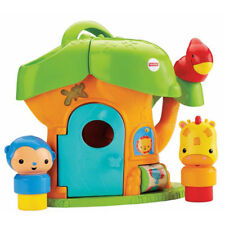 New Fisher-Price Silly Safari Musical Discovery Treehouse Fun Activity Baby Toy