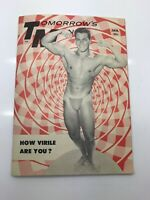 TM Tomorrow's Man January 1957 Vol. 4 No. 2 Gay Male Beefcake Magazine