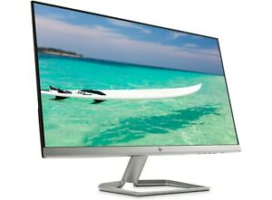 "HP 27f LED display 68,6 cm (27"") Full HD Noir, Argent, EXTRA PLAT !"