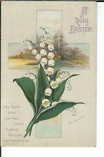 AX-189 A Holy Easter Artist Signed Ellen Clapsaddle 1907-1915 Postcard Vintage