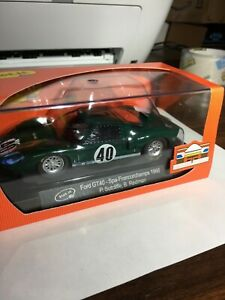 1:32 Scale Slot.it Ford GT40 Slot Car Green #40 NEW $1 Lot #19