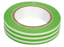 washi tape Rayas Verde-Blanco 15mm x 10m Cinta Adhesiva