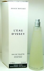 L'EAU D'ISSEY by Issey Miyake 3.3 / 3.4 oz Tester for women Perfume edt NEW